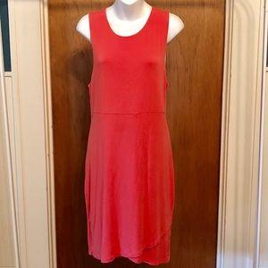 Athleta | Coral Sleeveless Dress
